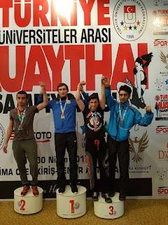 Üniversiteler Arası Turnuvada Bozkırlı Uyar bronz madalya
