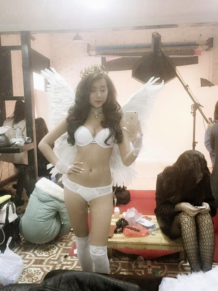 gái xinh Thiên thần Victoria Secret việt nam 2