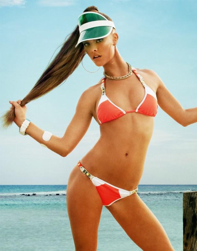 imágenes de Nina Agdal en bikini