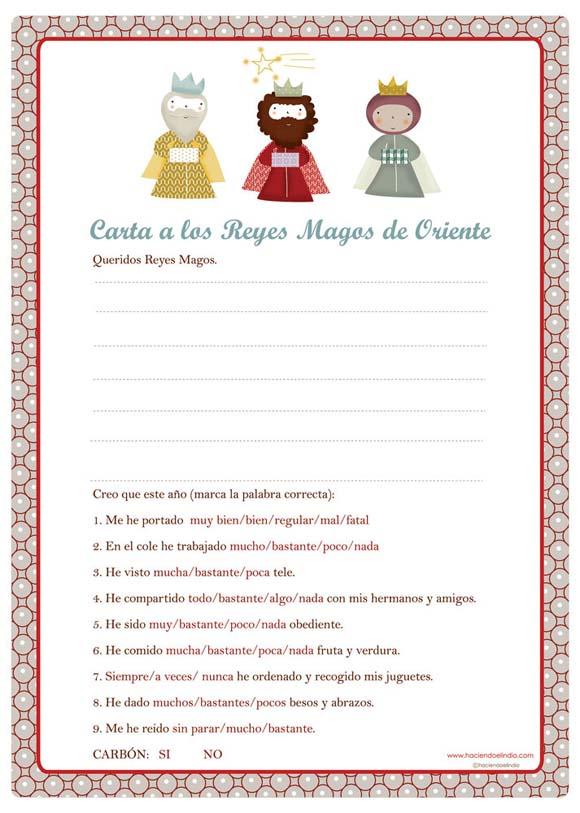 Worksheet. Carta a los Reyes Magosy de los Reyes Magos  loft in soho