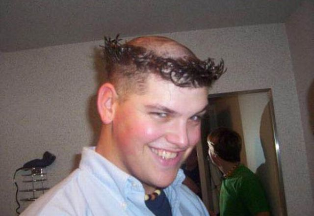 Most Funniest Hair Styles Pics