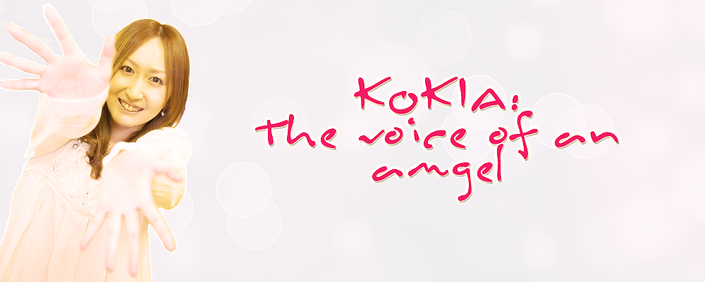 KOKIA  The voice of an angel  Discograf  a