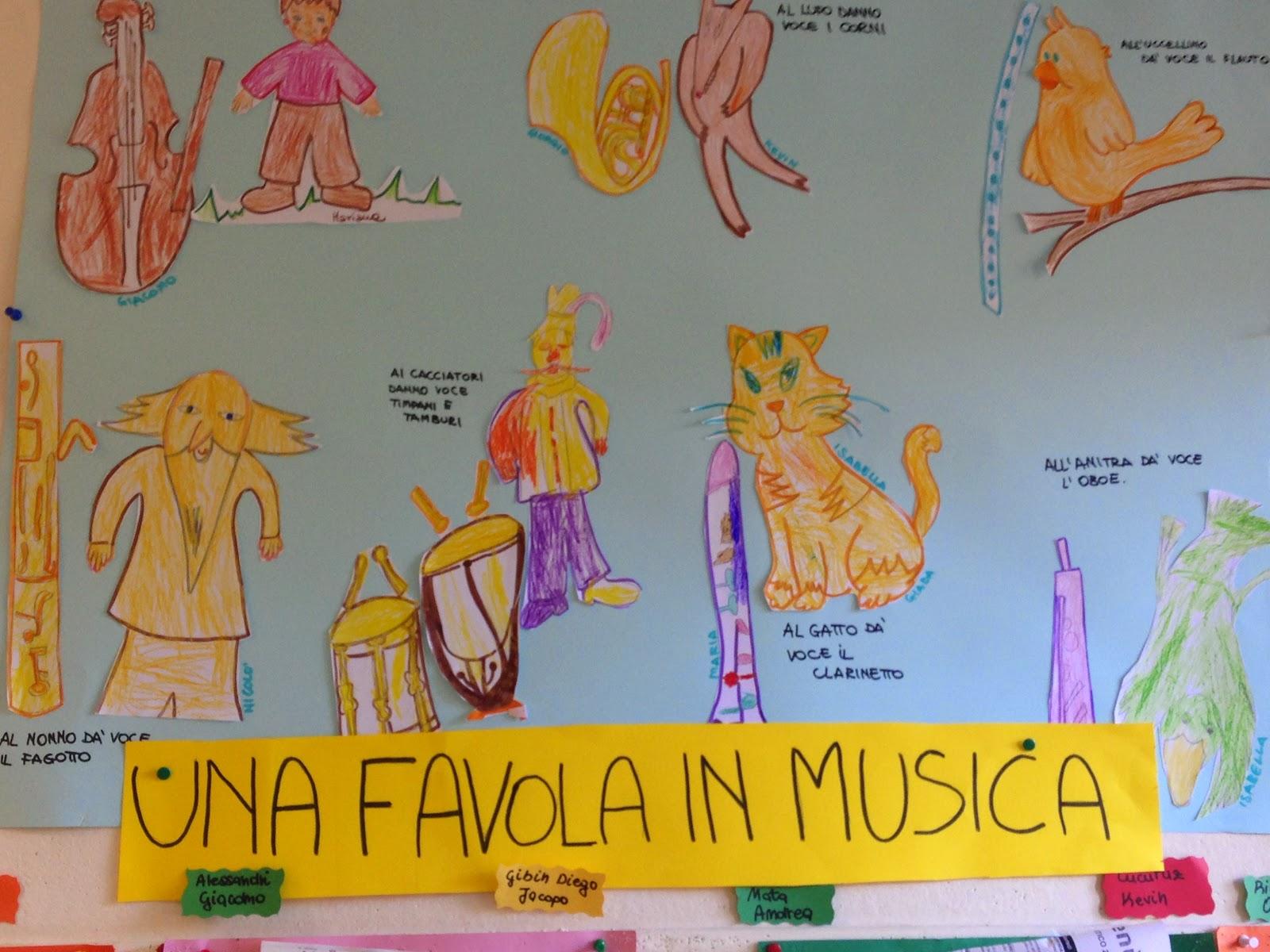 Favorito PICCOLI VIAGGI MUSICALI: LABORATORIO: Pierino e il Lupo (8) alla  ZV41
