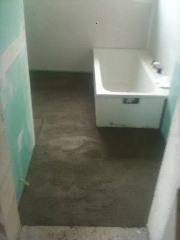 Estrich Bad sicher ins eigenheim wir bauen ein haus