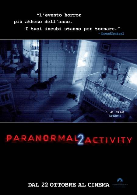 paranormal activity 2, locandina, poster