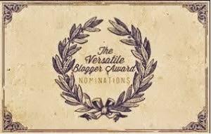 Selo: The Versatile Blogger Award