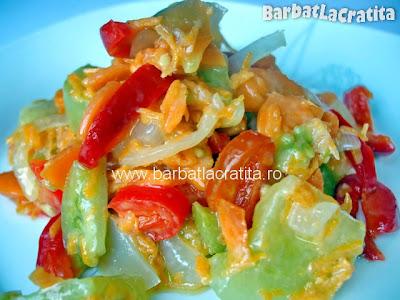 Salata de iarna cu mustar reteta