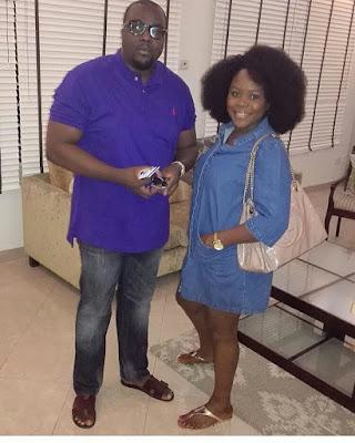 Omawumi And Hubby Mark One Year Wedding Anniversary (Photo)