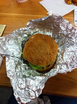 Five Guys Burger Covent Garden London