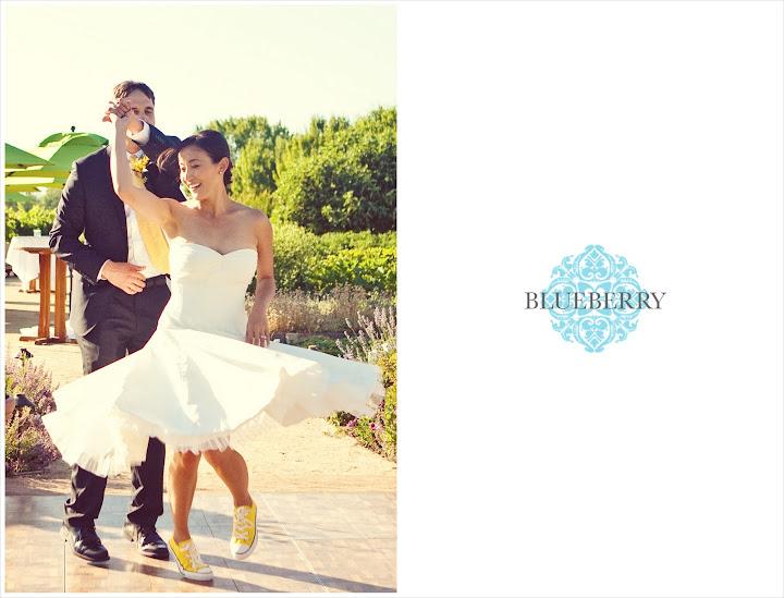 napa outdoor wedding ceremony vineyard dancing yellow converse