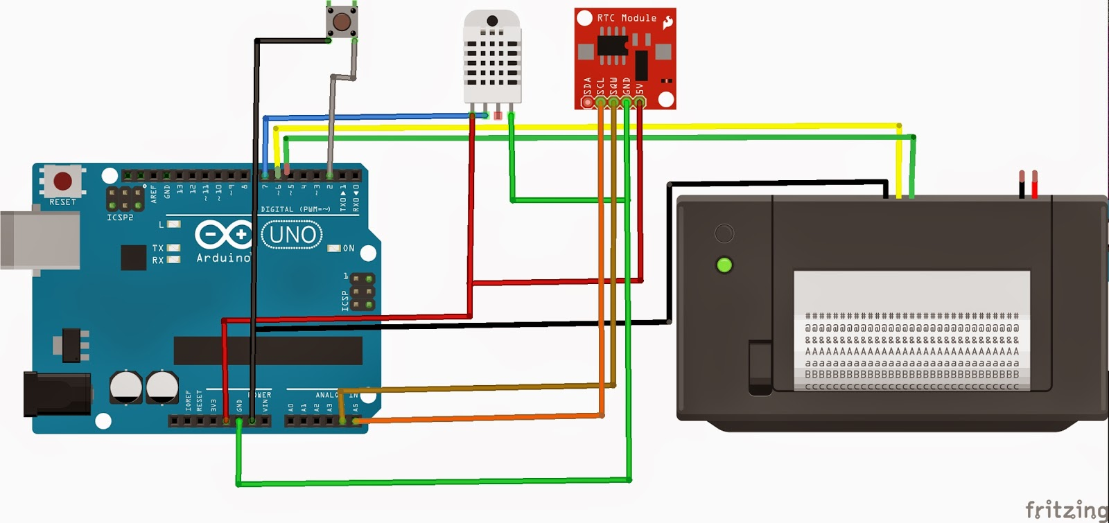 Arduino thermal printer