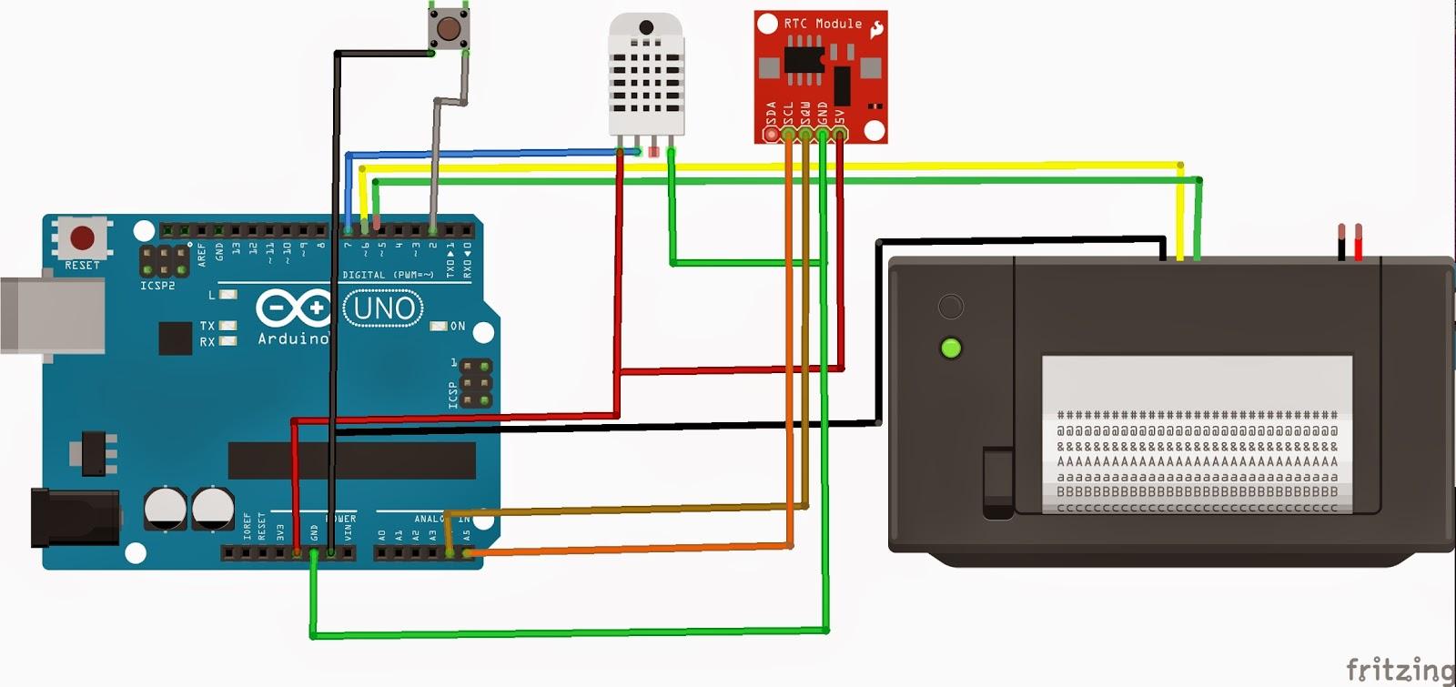 Adafruit thermal printer w arduino
