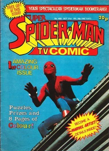 Super Spider-Man TV Comics #450