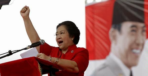 Megawati Berpidato