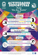 ACTIVIDADES DEPORTIVAS FIESTAS SAN JUAN BAUTISTA 2017