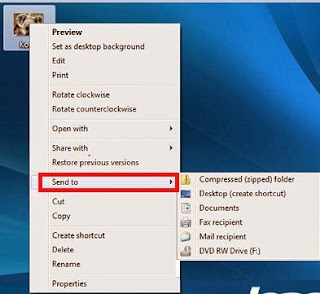 """Bluetooth"" option missing from ""Send to"" menu in Windows 7 ,Windows 8,"