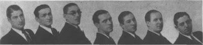 Osvaldo Pugliese cuando integraba la orquesta de Pedro Laurenz