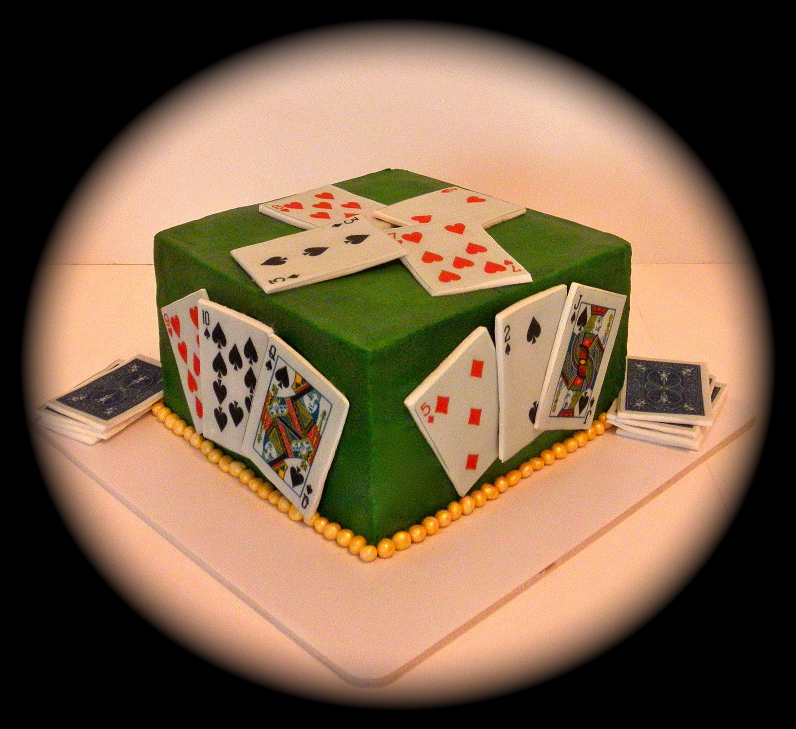 Sweet K Cake Design : Sweet T s Cake Design: Card Game of Spades Special ...