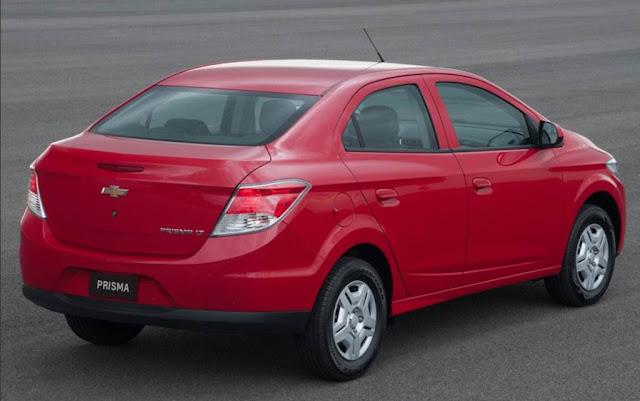 Chevrolet Prisma LT 1.0 Vermelho
