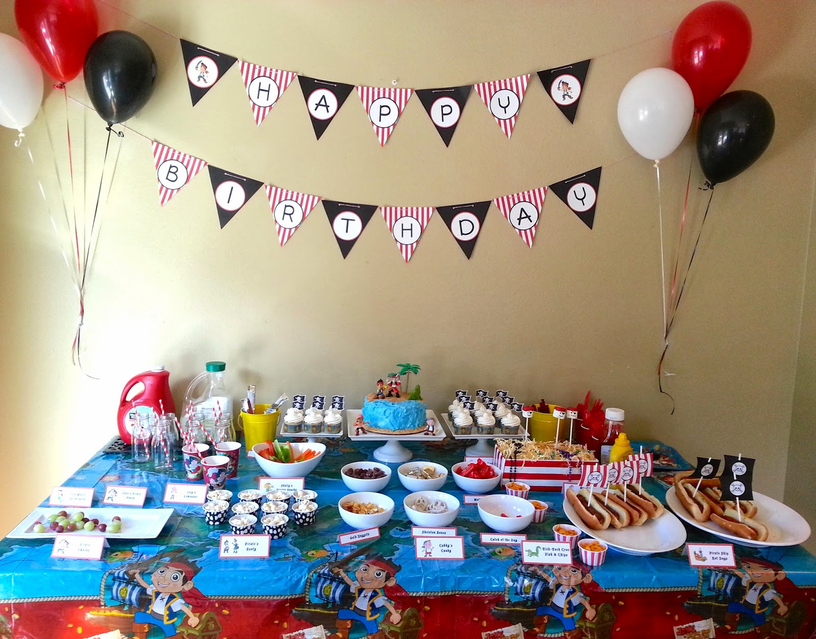 Much Kneaded: Jake and the Neverland Pirates Birthday Party - Part 1