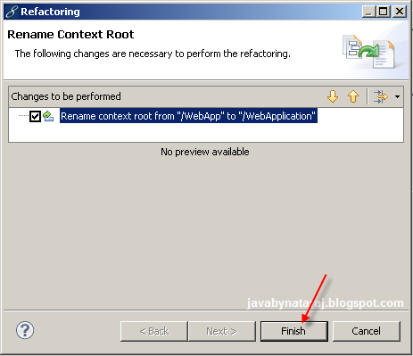 How to change Context-root of an application_JavabynataraJ