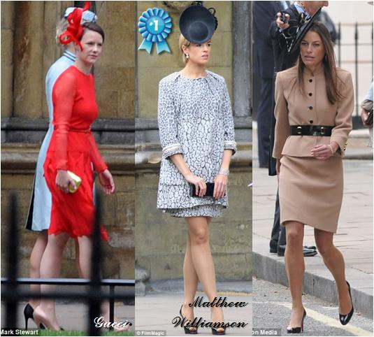 The Royal Order Of Sartorial Splendor NonRoyal Fashion Awards - Lady worst wedding guest history