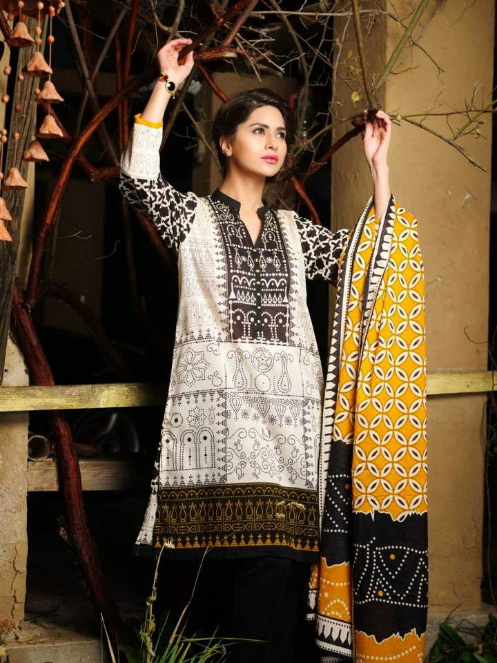Latest Khaadi Lawn Collection 2015