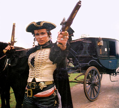 Adam as Dandy Highwayman, 1981.