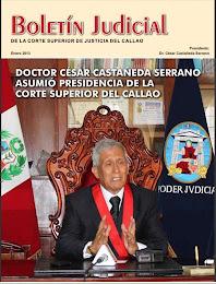 BOLETIN JUDICIAL DE LA CORTE SUPERIOR DE JUSTICIA DEL CALLAO