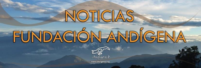NOTICIAS DE LA FUNDACION ANDIGENA