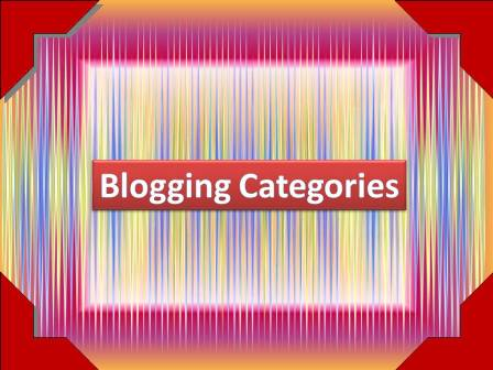 Which Category of Blogging suits Best to you - BloggingFunda