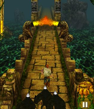 Temple Run: The Newest mobile Gaming Craze