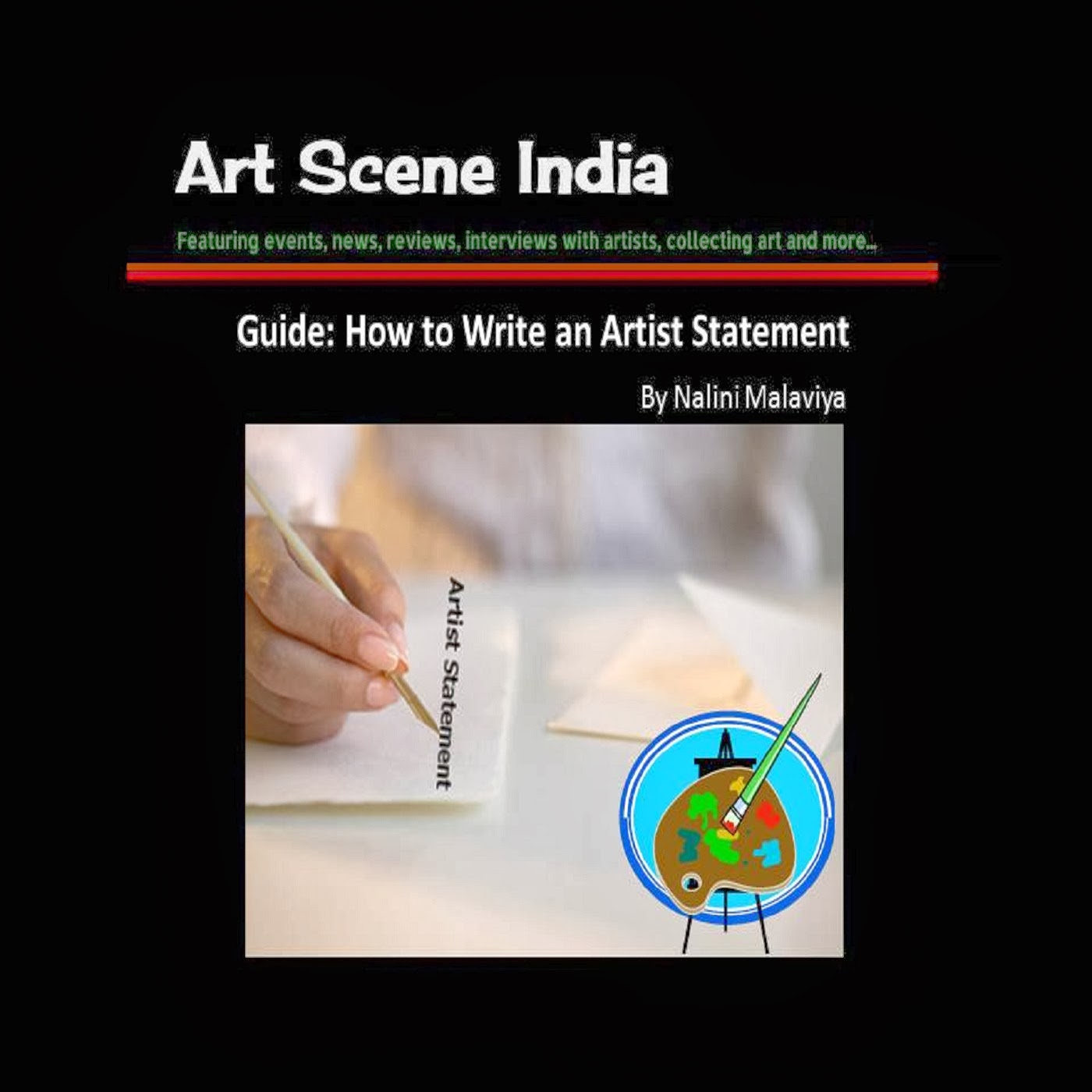 Guide: How to Write an Artist Statement, Art Scene India