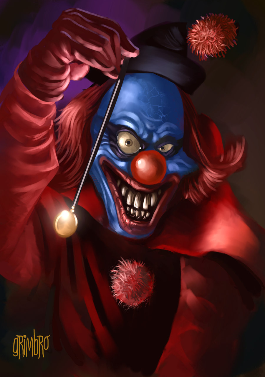 Evil wicked funny rapping clown