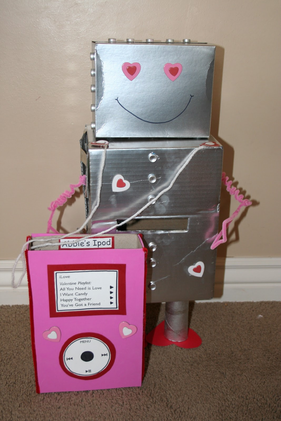 Mommy Lessons 101 Creative Valentine Box Idea 3 Robot