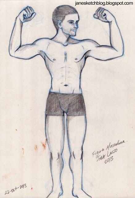 Dibujo de la figura masculina