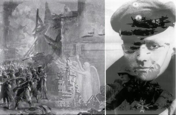 angel ww1 - Ovnis, Angeles y fenómenos paranormales de la primera guerra mundial