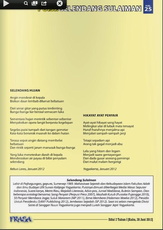 Puisi Selendang Sulaiman