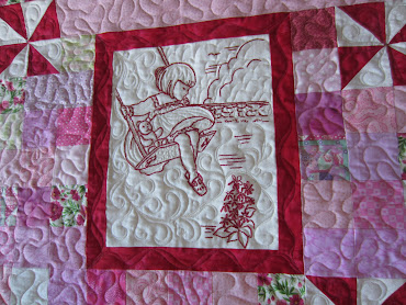 Getting Up Close with my Quilting