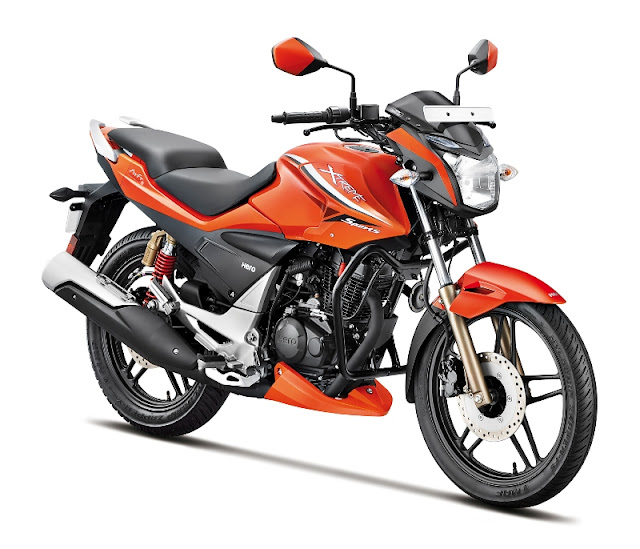 new hero xtreme sports orange