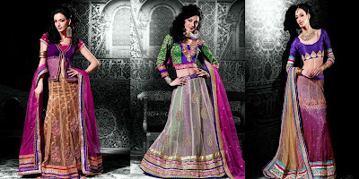 Fashion 2013, Indian Fashion, Indian Models, Lehengha Collection, Party wear,