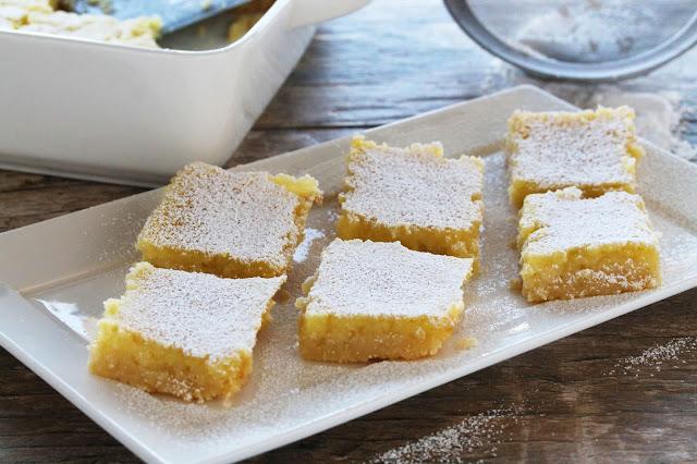 5 Ingredient Meyer Lemon Bars