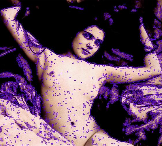 Nude. Leopold Reutlinger