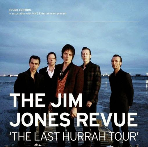 Gira de despedida de Jim Jones Revue