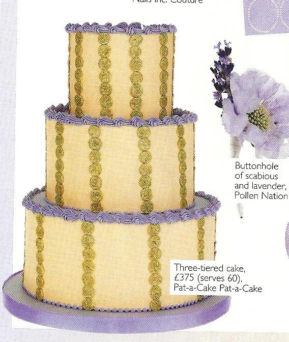 Pat- A-Cake Pat-A-Cake: Perfect Palettes- Wedding Magazine