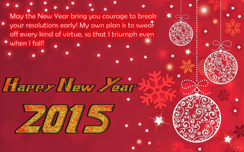 May the Happy New Year 2015 Wishes Quotes