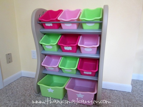Step2 Fun Time Room Organizer review