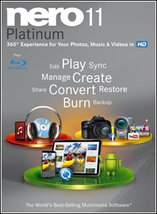 Nero Multimedia Suite 11 Platinum HD + Ativação Definitiva