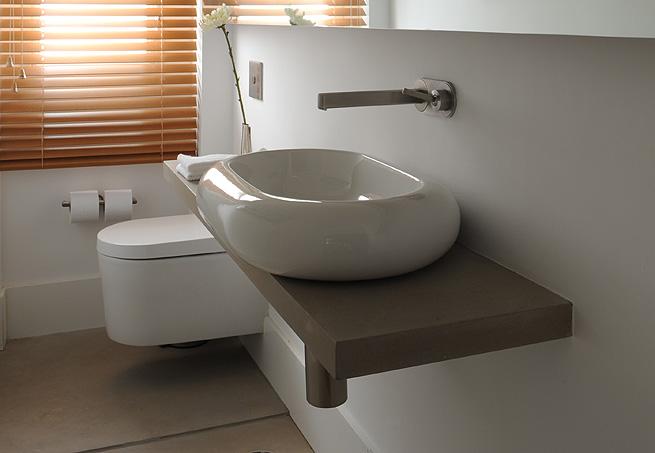 Cubas para banheiros  Redecorando sua casa -> Pia Banheiro Semi Encaixe