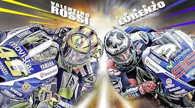 Hasil Kualifikasi MotoGP Valencia 2015 Valentino Rossi vs Jorge Lorenzo
